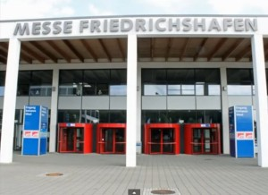 The Messe Friedrichshafen, home of the HAM RADIO show in Germany. (Photo credit: Joe Eisenburg, KØNEB)