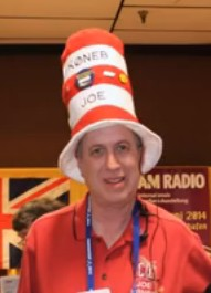 Joe Eisenberg KØNEB at the 2014 Dayton Hamvention